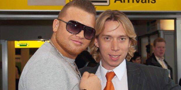 Werner nimmt Bodyguard