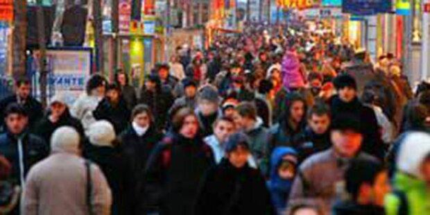 Österreich an 6. Stelle bei Ausländeranteil