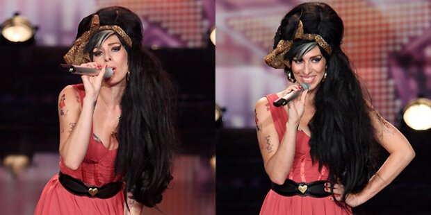 Winehouse-Double ist schon Gewinnerin!
