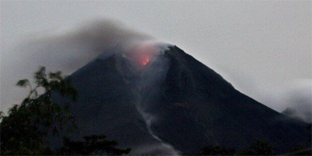 Vulkan Merapi erneut ausgebrochen