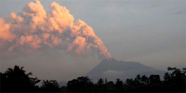 Immer mehr Tote durch Vulkan Merapi