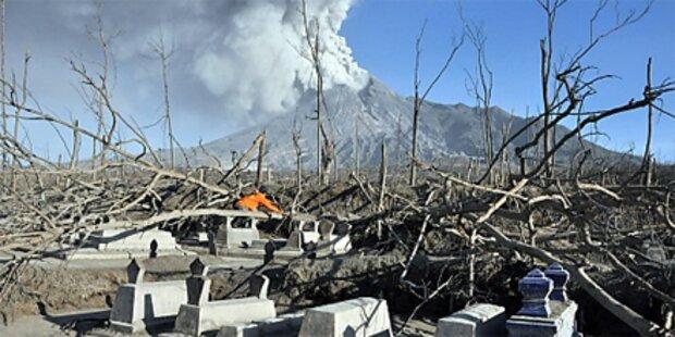 Merapi: Zahl der Toten auf 324 gestiegen