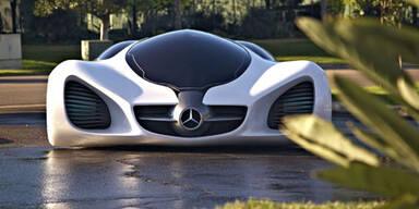 Dieser Mercedes wächst von selbst