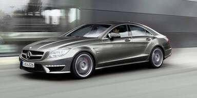 Weltpremiere des Mercedes CLS 63 AMG