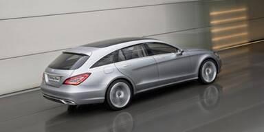 Mercedes baut den CLS Shooting-Brake