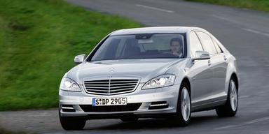 Mercedes S-Klasse mit 4-Zylinder-Diesel