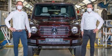 G-Klasse: 400.000 Exemplare in Graz gefertigt