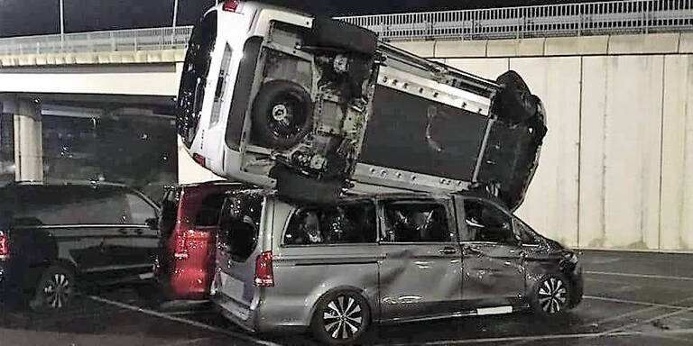 Ex-Mitarbeiter zerstört 50 nagelneue Mercedes