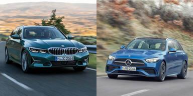 BMW und Mercedes schon wieder auf Rekordkurs