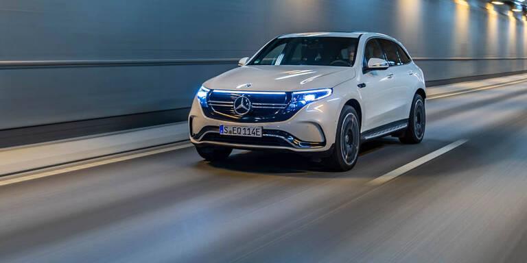 Mercedes EQC kann nun schneller laden