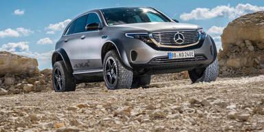 Mercedes macht EQC zum Hardcore-Offroader