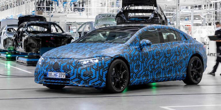 Neue Infos zu Mercedes EQS, EQE, EQB und EQA