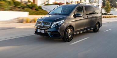 Mercedes V-Klasse jetzt auch mit Luftfahrwerk
