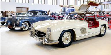 Mercedes-Oldtimer um 1,6 Mio. Euro geklaut