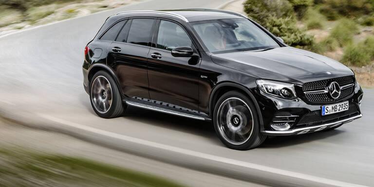 Mercedes greift mit dem AMG GLC 43 an