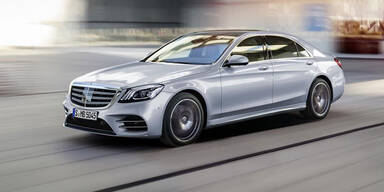 """Jetzt startet die """"neue"""" Mercedes S-Klasse"""