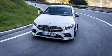 Mercedes schärft die neue A-Klasse nach