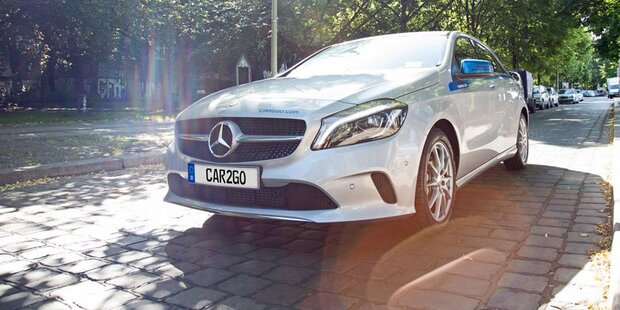 car2go greift jetzt mit Mercedes-Modellen an