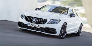 Mercedes frischt stärkste C-Klasse auf