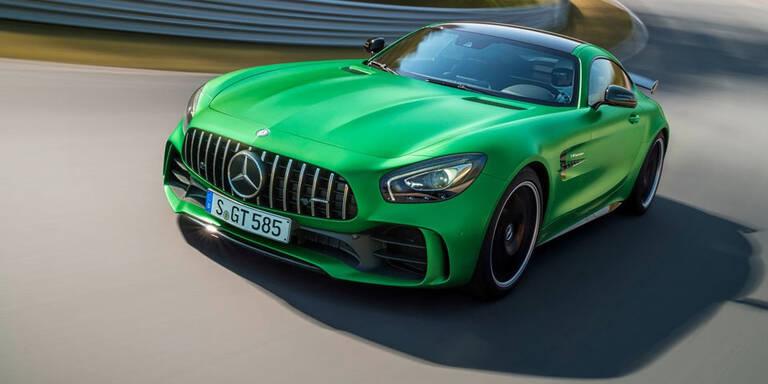Mercedes weiter vor BMW und Audi