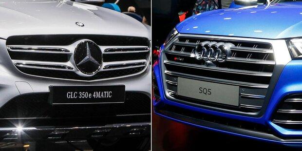 Mega-Rückruf bei Audi und Mercedes