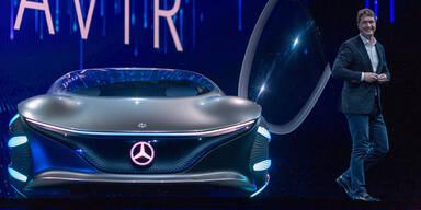 Mercedes zeigt Science-Fiction-Auto
