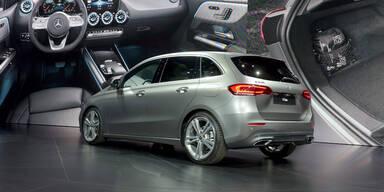 Alle Infos von der neuen Mercedes B-Klasse