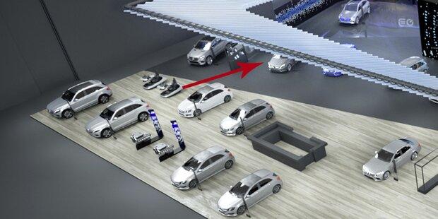 Mercedes zeigt völlig neue B-Klasse