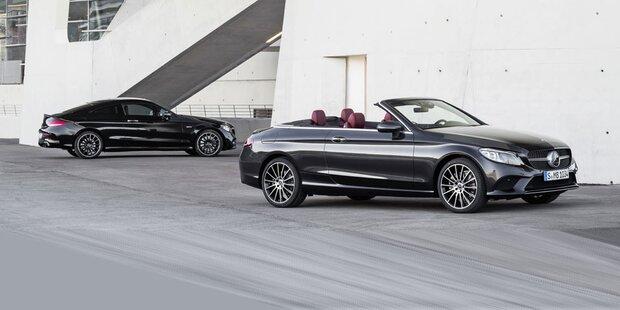 Facelift Für Mercedes C Klasse Coupé Und Cabrio 2018 Alle Infos