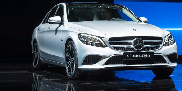 Mercedes setzt auf Plug-in-Dieselhybride