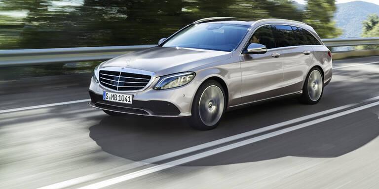 Facelift für die Mercedes C-Klasse