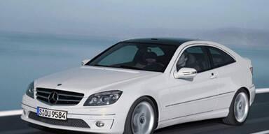 Neues Sport-Coupe von Mercedes