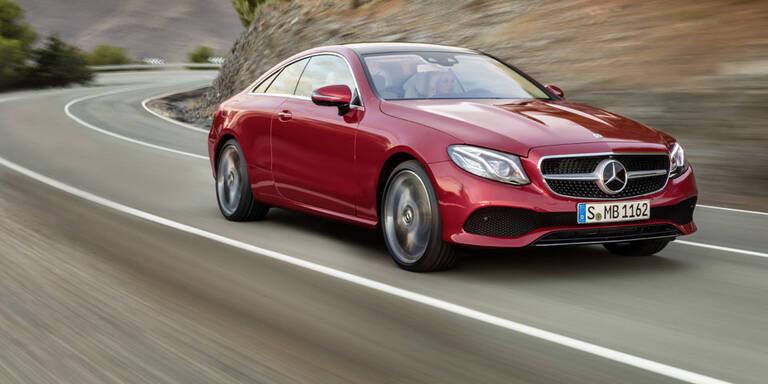 Das neue Mercedes E-Klasse Coupé