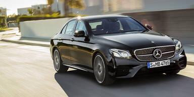 Mercedes E-Klasse günstiger und stärker