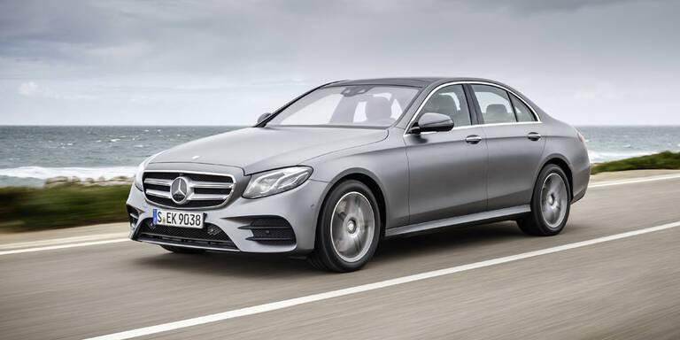 Mercedes rüstet die E-Klasse auf