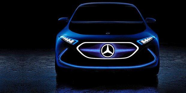 Mercedes zeigt elektrische A-Klasse