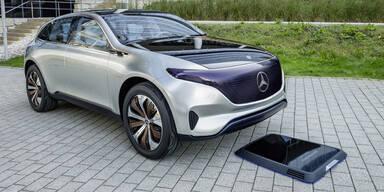 Mercedes legt Grundstein für E-Auto-Offensive