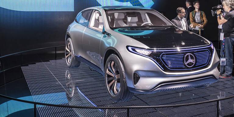 Mercedes E-Auto mit bis zu 700 km Reichweite