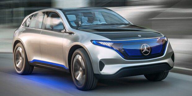 Mercedes startet Vollangriff auf Tesla