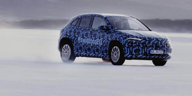 EQA: Mercedes zeigt elektrischen GLA