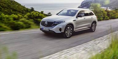 """Mercedes E-SUV """"EQC"""" startet zum Kampfpreis"""