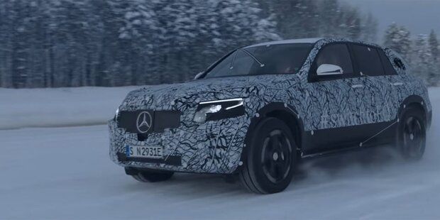 Hier fährt Mercedes' erstes Elektro-SUV