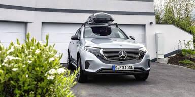 Mercedes rüstet den EQC auf