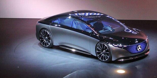Mercedes zeigt elektrische S-Klasse