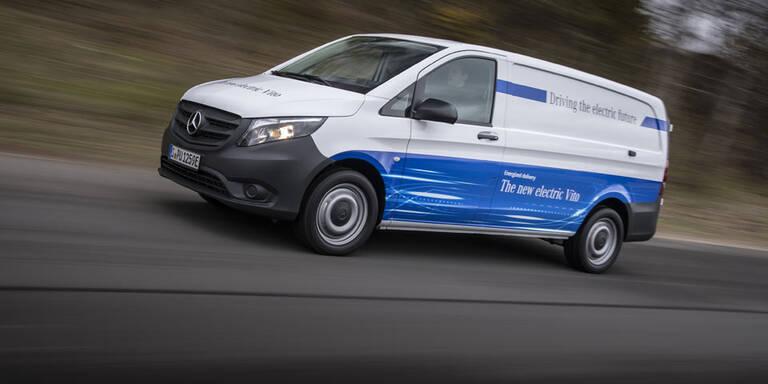 Mercedes bringt elektrischen Vito