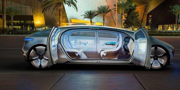 Daimler bringt als 1. Konzern Robo-Taxis
