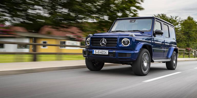 G-Klasse: Sondermodell & neuer Top-Diesel