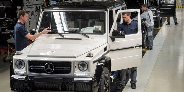 Magna produzierte mehr Autos in Graz