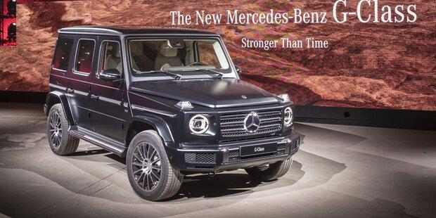 Neue Mercedes G-Klasse (2018) - alle Infos von der Weltpremiere der ...