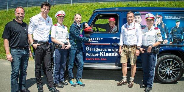 Neue Mercedes G-Klasse für die Polizei